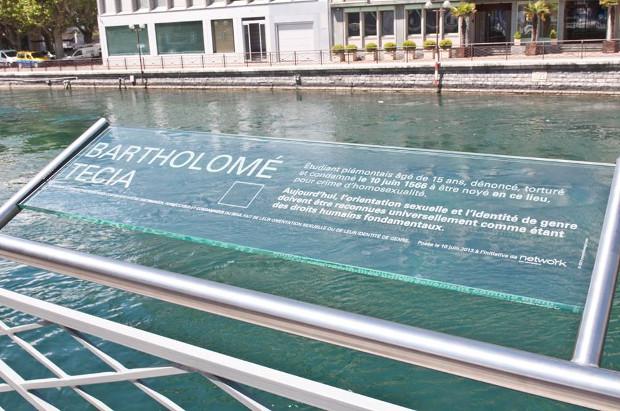 Genève : «Les passants s'arrêteront et s'interrogeront sur la folie de l'homophobie»