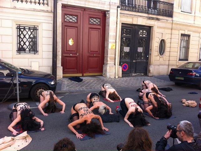 Pétition pour éxiger la libération des Femen en Tunisie adressée à M. Hollande