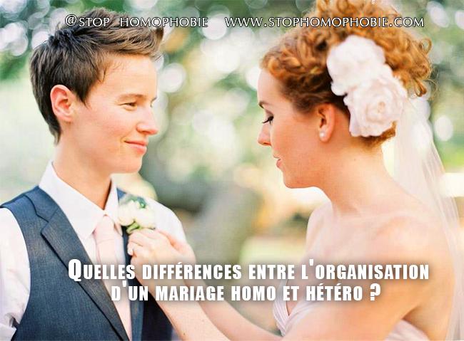 Mariage gay: quelles différences entre l'organisation d'un mariage homo et hétéro?