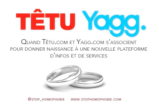 Quand Yagg et Têtu.com s'acoquinent