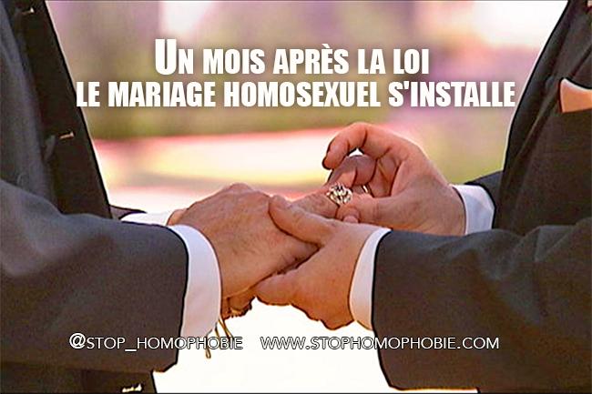 France : Un mois après la loi, le mariage homosexuel s'installe