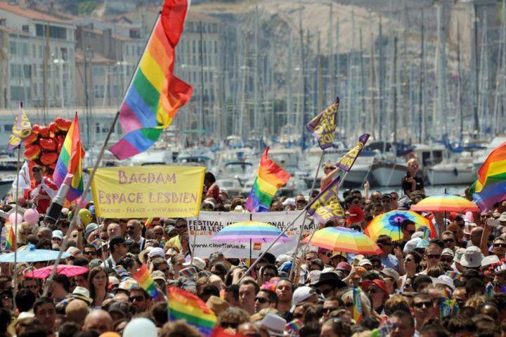 A Marseille, l'Europride sous le signe du mariage gay
