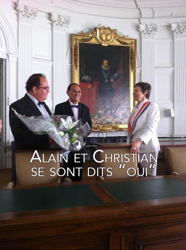 Vidéo - Mariage gay à Pau: Alain et Christian sont les premiers