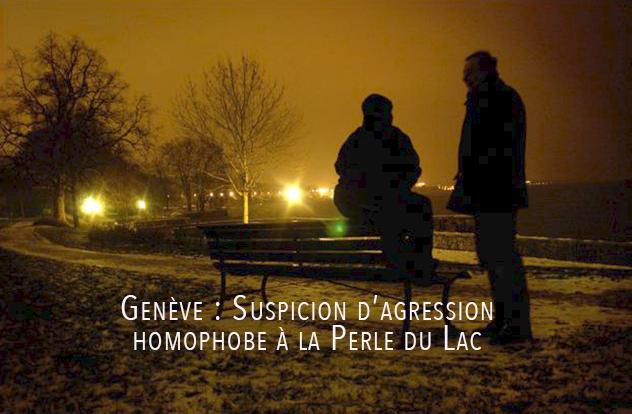 Genève : Suspicion d'agression homophobe à la Perle du Lac