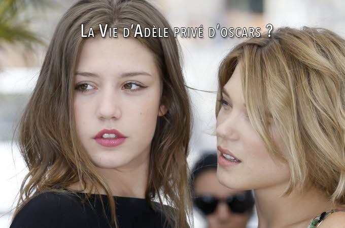 La Vie d'Adèle privé d'oscars ?