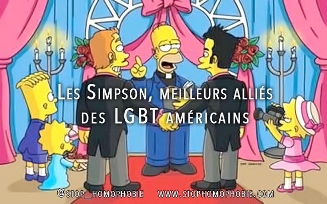 Les Simpson, meilleurs alliés des LGBT américains