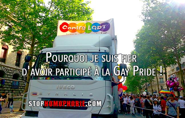 Témoignage : Pourquoi je suis fier d'avoir participé à la Gay Pride !