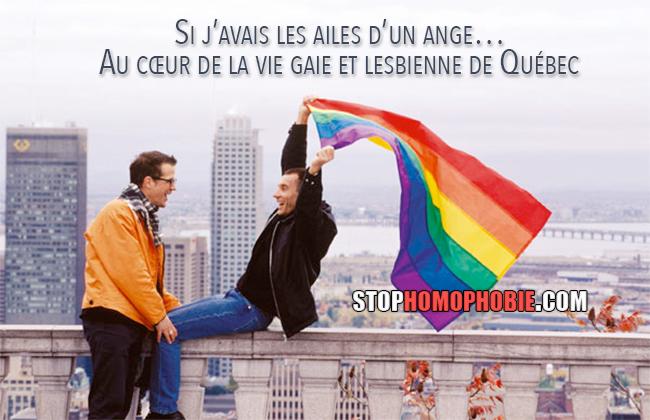 Si j'avais les ailes d'un ange… Au cœur de la vie gaie et lesbienne de Québec