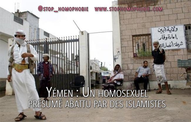 Yémen : Un homosexuel présumé abattu par des islamistes