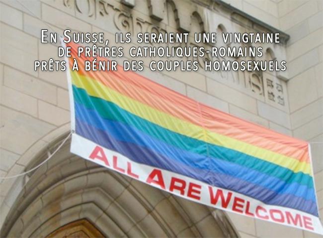 Des paroisses «gay-friendly» à l'insu de la hiérarchie catholique ?!