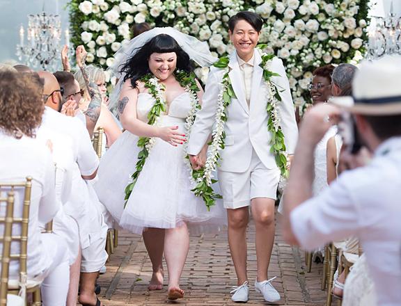 Beth Ditto : La chanteuse a épousé Kristin à Hawaï