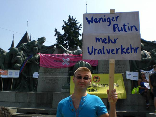 Berne : Pas d'homos devant l'Ambassade de Russie, s.v.p.!
