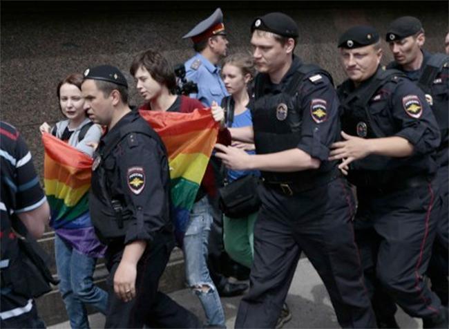 La Russie, le pays de l'homophobie d'Etat