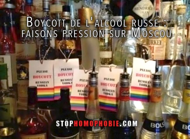 Boycott de l'alcool russe : faisons pression sur Moscou à six mois des JO d'hiver de Sotchi