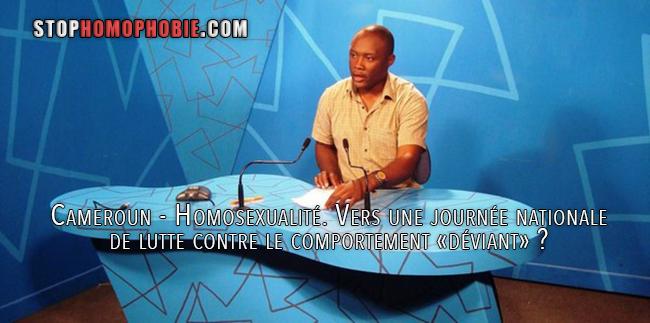 Cameroun - Homosexualité. Vers une journée nationale de lutte contre le comportement «déviant» ?