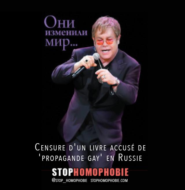 Censure d'un livre accusé de 'propagande gay' en Russie