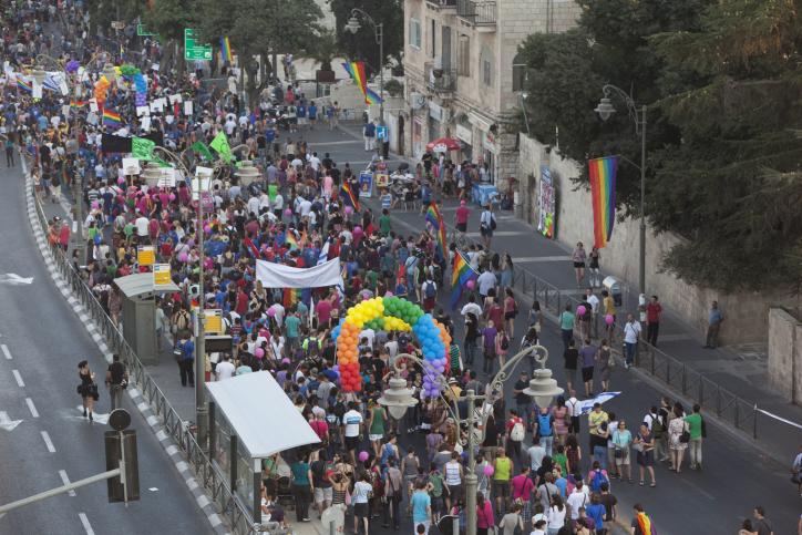 Vidéo : Plusieurs milliers de participants à la Gay Pride à Jérusalem