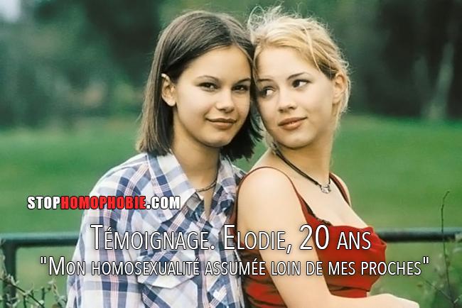 """Témoignage. Elodie, 20 ans  """"Mon homosexualité assumée loin de mes proches"""""""