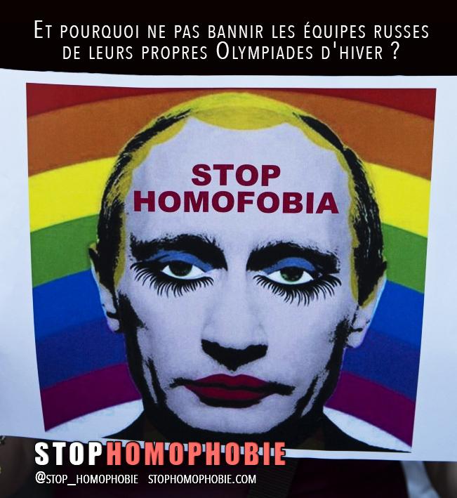 """Boycotter? Il faut """"bannir"""" la Russie de ses propres Olympiades d'hiver !"""