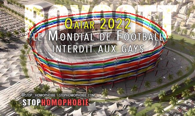 Qatar 2022 - le Mondial de Football interdit aux gays