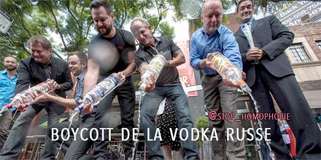 L'Allemagne boycott à son tour la Vodka russe