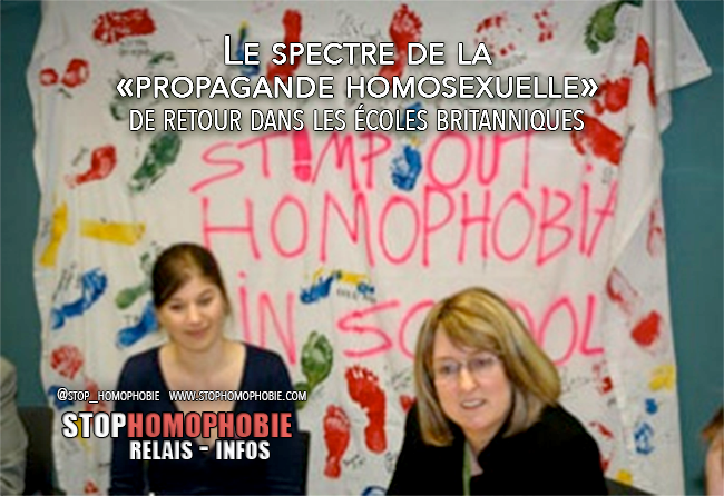 Royaume-Uni : Le spectre de la «propagande homosexuelle» de retour dans les écoles britanniques