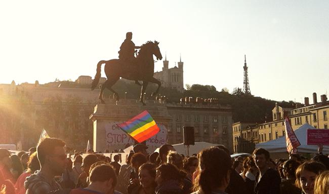 Lyon, 4ème ville pour le nombre de mariage gay