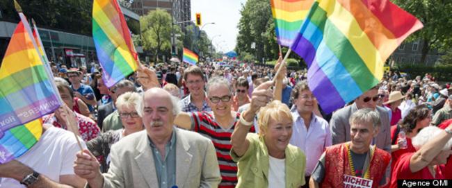 Pour la première fois, un premier ministre du Québec assiste au défilé gai de Montréal