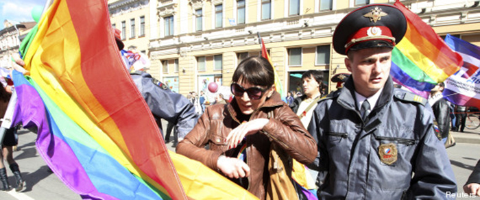 Homophobie : la Russie pourrait arrêter les athlètes gay lors des JO d'hiver