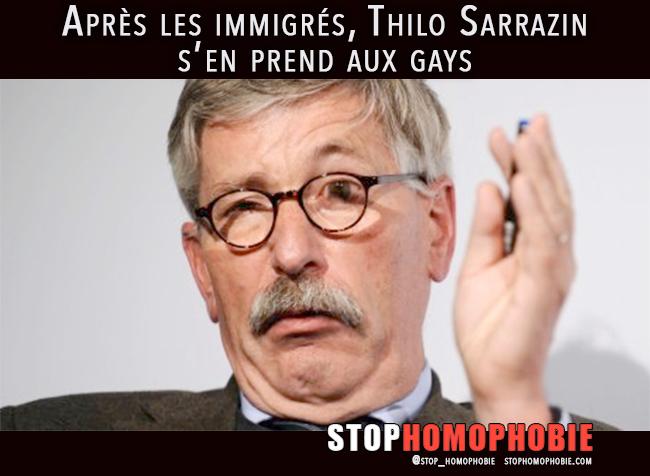 Berlin : Après les immigrés, Thilo Sarrazin s'en prend aux gays
