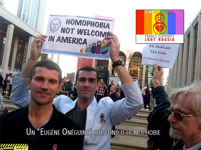 "New York : Un ""Eugène Onéguine"" sur fond d'homophobie"