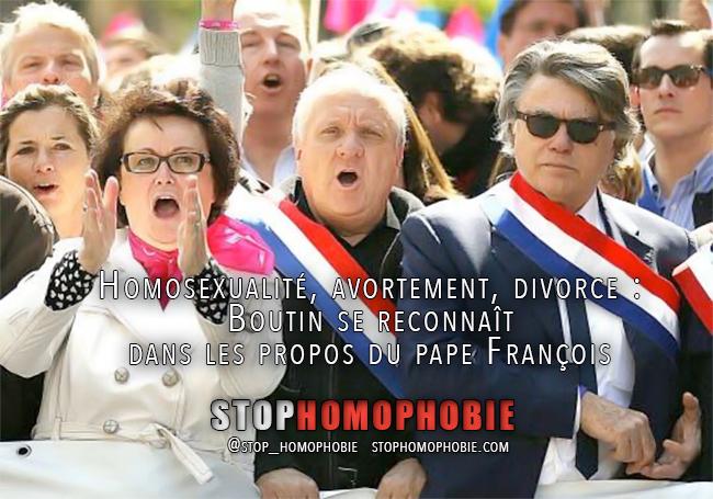 Homosexualité, avortement, divorce : Christine Boutin se reconnaît dans les propos du pape François