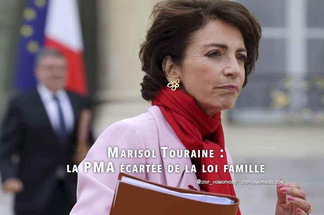 Marisol Touraine : la PMA écartée de la loi famille ?