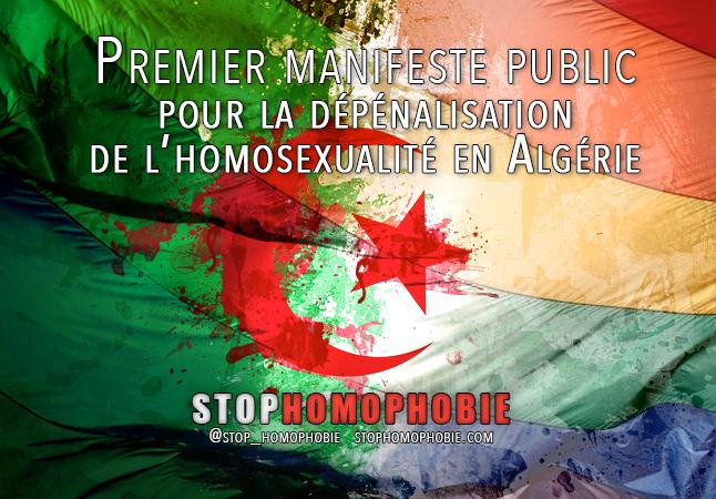 Egalité des droits : Premier manifeste public pour la dépénalisation de l'homosexualité en Algérie
