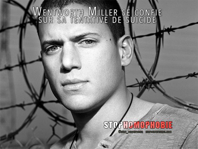 VIDEO. Wentworth Miller se confie sur sa tentative de suicide avant son coming-out