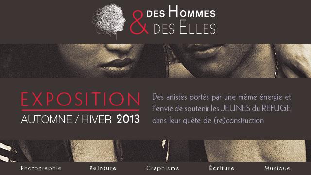 Des Hommes & des Elles : un projet artistique pour soutenir les jeunes du @_LeRefuge