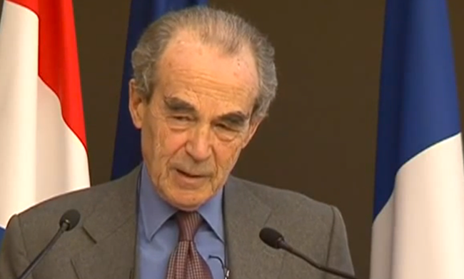 VIDEO : Discours de Robert Badinter contre l'homophobie
