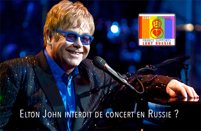 Propagande anti-gay : Elton John interdit de concert en Russie?
