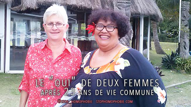 """Mariage pour tous en province nord: Le """"oui"""" de deux femmes après 23 ans de vie commune"""