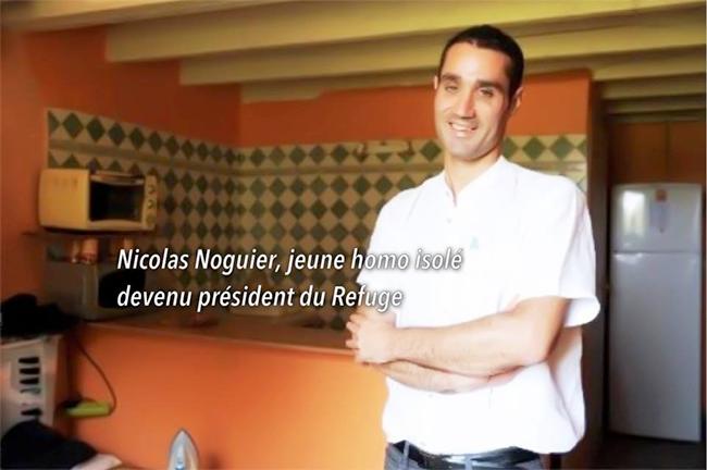 """Le Refuge : Nicolas Noguier n'avait """"personne à qui parler"""" de son homosexualité."""