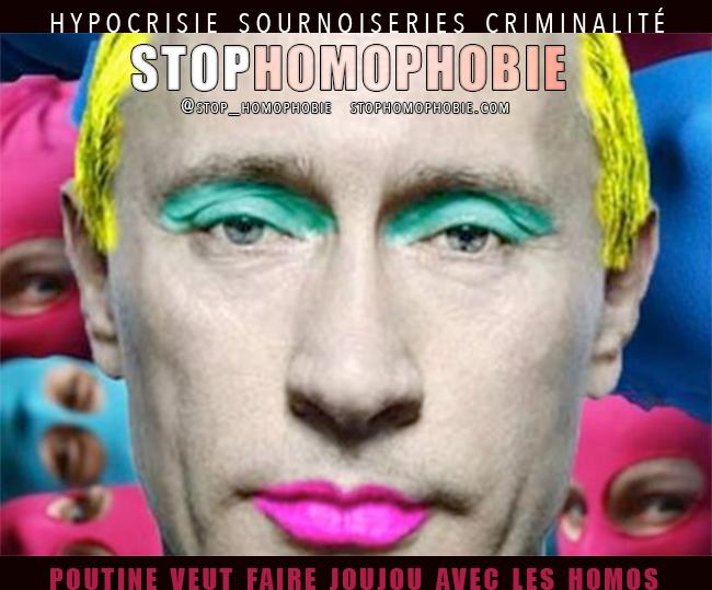 A la veille du G20, le président russe a farouchement nié toute discrimination d'Etat contre les LGBT de son pays.