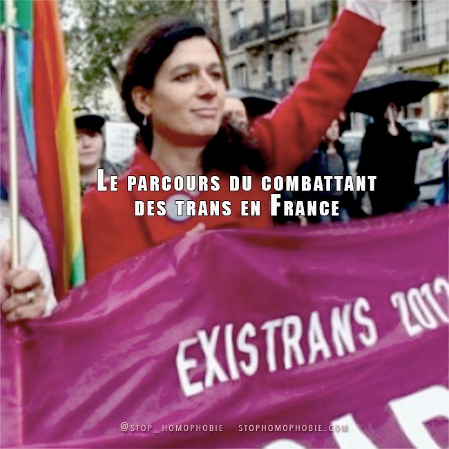 17ème Existrans : Le parcours du combattant des trans en France