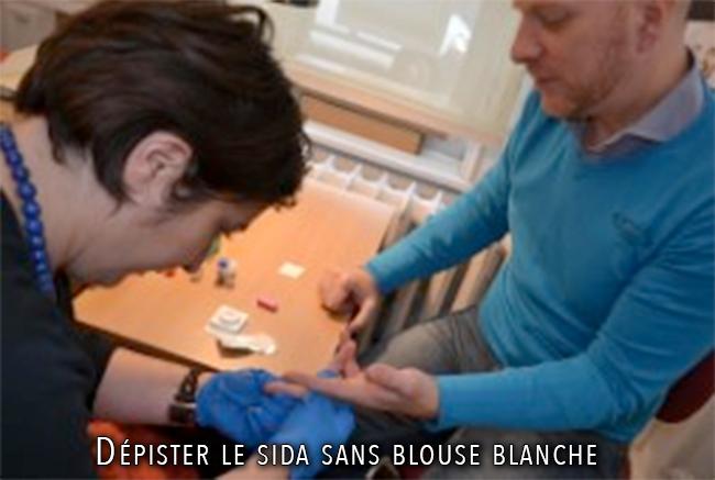 SANTE : Dépister le sida sans blouse blanche