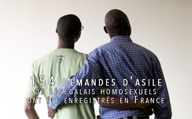 Homosexualité : 154 demandes d'asile de sénégalais homosexuels ont été enregistrés en France