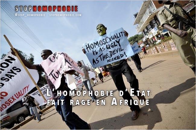 L'#homophobie d'Etat fait rage en #Afrique !