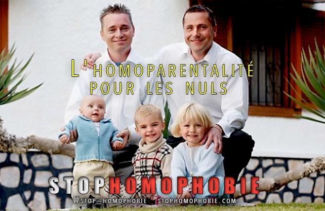 L'homoparentalité pour les nuls