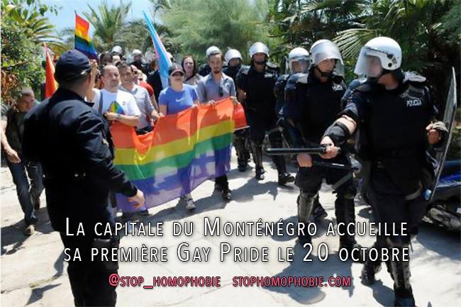 Balkans : La capitale du Monténégro accueille sa première Gay Pride le 20 octobre