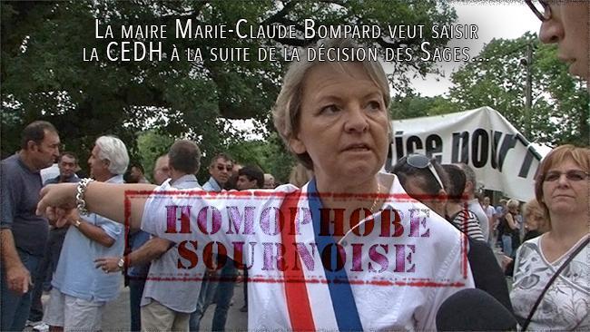 #HOMOSEXUALITE - La maire Marie-Claude Bompard veut saisir la CEDH à la suite de la décision des Sages