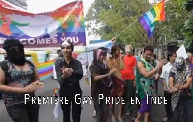 Première Gay Pride en Inde