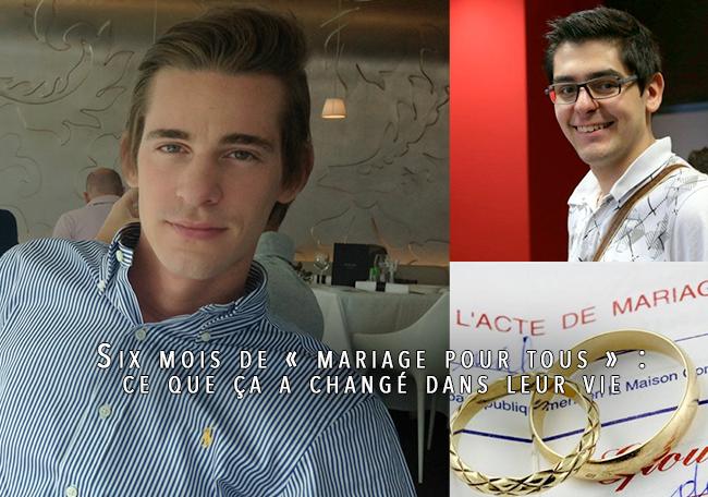 Six mois de « mariage pour tous » : ce que ça a changé dans leur vie